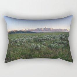 American Cloud Piercers Panorama Rectangular Pillow