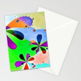 Fraktal Design - Flowers and Hills 2 Stationery Cards