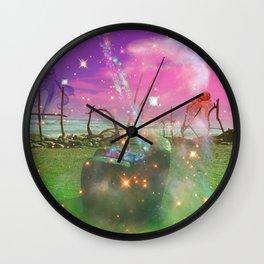 Hokitika New Zealand Surreal Wall Clock