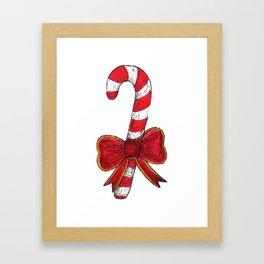 The Christmas Candy Framed Art Print
