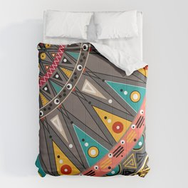 Ethnic tribal ornament Comforters