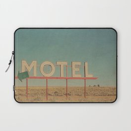 Vintage Motel Laptop Sleeve
