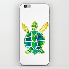 Turtle Love iPhone Skin