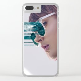 Adfskhljg eyes. Clear iPhone Case