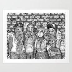 Closing Time Art Print