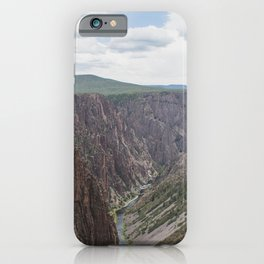 Black Canyon of the Gunnison - Landscape Photography iPhone Case
