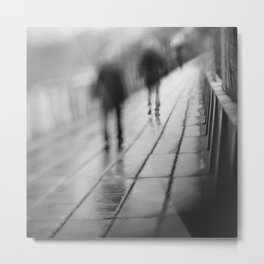 My shadows follow me... Metal Print