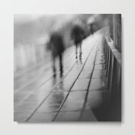 My shadows follow me... Metal Print