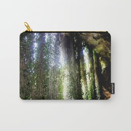 Inside a cave, looking out! Carry-All Pouch