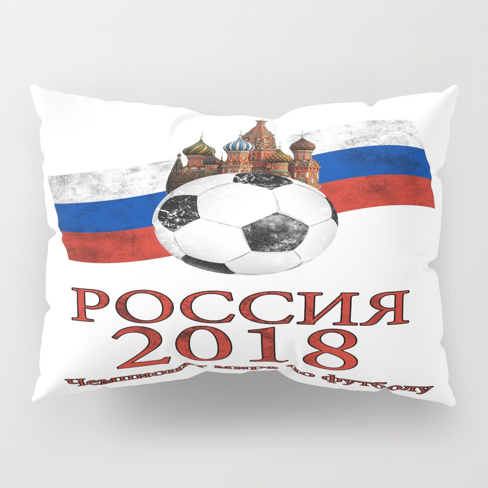 Russia Football World Cup Pillow Sham by Valentinahramov PSH8960069