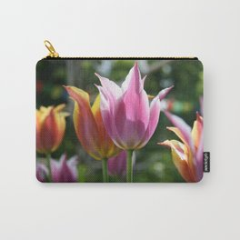 Field of Tulips by Mandy Ramsey, Haines, Alaska Carry-All Pouch