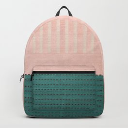 Anthropologie Traditional Moroccan Style Pink Texture (N28) Backpack