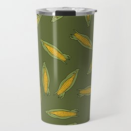 Corn pattern Travel Mug