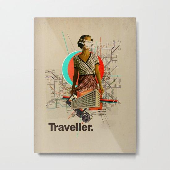 Traveller Metal Print