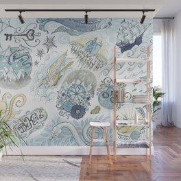 Tattoo Pattern Wall Mural