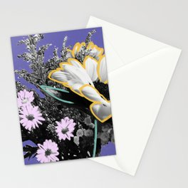 Pick Me Up I - Floral Mixed Media Photography Illustration Stationery Cards