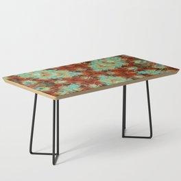 Scifi Rustic Geometric Coffee Table