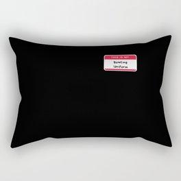 This Is My Bowling Uniform Rectangular Pillow