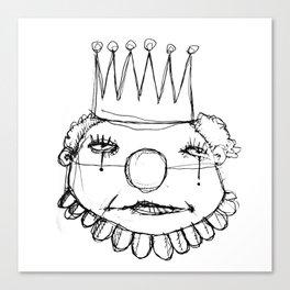 clowns in crowns #8 Canvas Print
