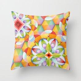Big Top Mandala Throw Pillow