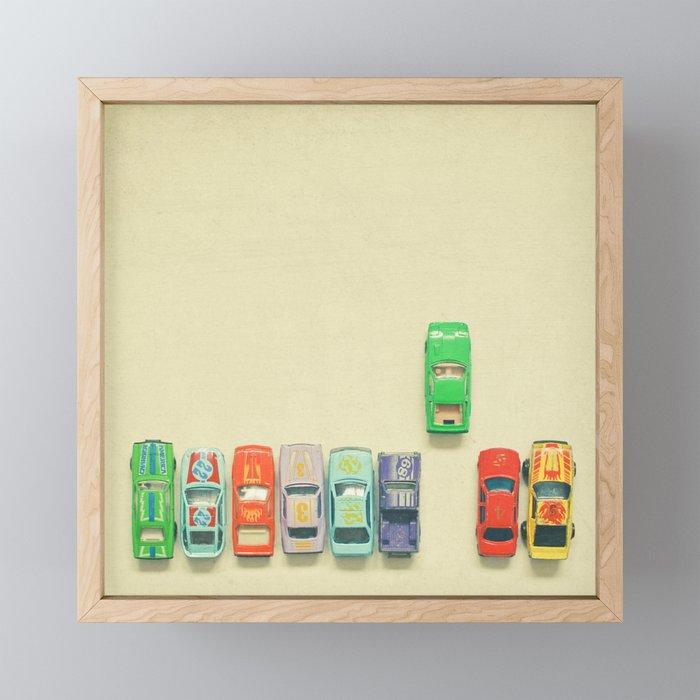 False Start Framed Mini Art Print