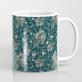 Small Floral Branch Coffee Mug