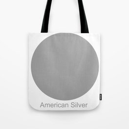 American Silver Tote Bag