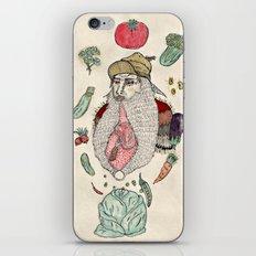 Closeted carnivore iPhone & iPod Skin