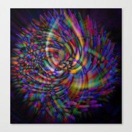Swirls of Toothpicks Canvas Print