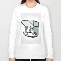 the dude Long Sleeve T-shirts featuring DUDE by Serhiy FE