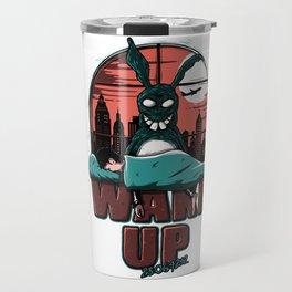 Wake up Donnie Travel Mug