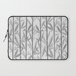 Bamboo Forest / Neutral Botanical Pattern Laptop Sleeve