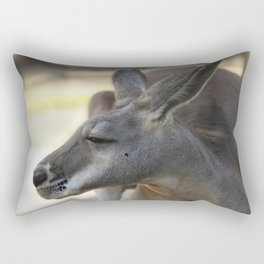 Male Kangaroo Rectangular Pillow
