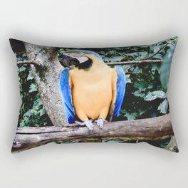 canning macaw - arara amarela Rectangular Pillow