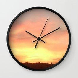 Sunset 504 Centre Focus Wall Clock