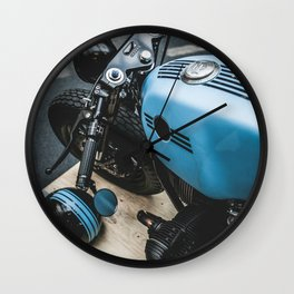 Custom blue beast Wall Clock