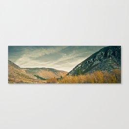 John Muir Wilderness in Fall Canvas Print