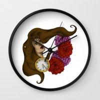 gypsy Wall Clocks featuring Gypsy by Rene Robinson