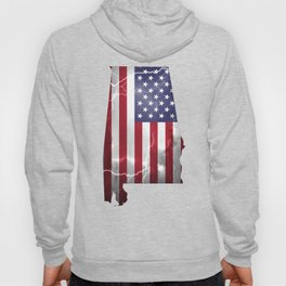 My Heart is in Alabama State United States Hoody