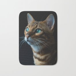 Beautiful Cat Bath Mat