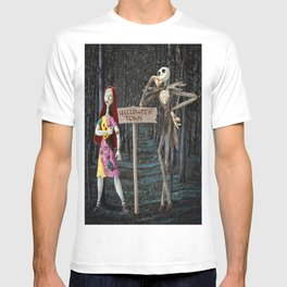 Halloween Town | Jack | Sally | Christmas | Nightmare T-shirt