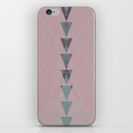 dusty arrows rose iPhone Skin