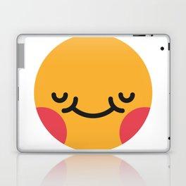 Emojis: Blush Laptop & iPad Skin