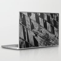 labyrinth Laptop & iPad Skins featuring Labyrinth by Tom Sebert