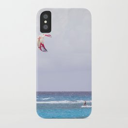 kite surfin' iPhone Case