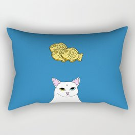 Fat D. Loves Taiyaki Rectangular Pillow