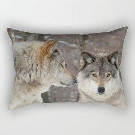 I've heard it all before Rectangular Pillow