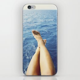 Legs on the holiday iPhone Skin