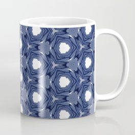 blue pattern Coffee Mug