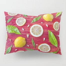Fruits and leaves pattern (34) Pillow Sham